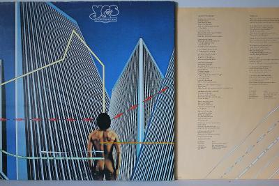 Yes – Going For The One LP 1977 vinyl Germany 1.press super stav sleva