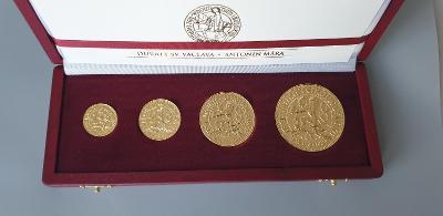 Sada Zlatých Dukátov Sv. Václava, podľa návrhu Antonína Máru