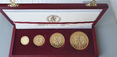 Sada Zlatých Dukátov Sv. Václava,  podľa návrhu Jána Čejku