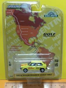 1974 Volkswagen Golf MK1 Pirelli - Greenlight 1/64 (V11-239)