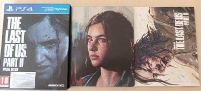 The Last of Us Part II Special Edition (PS4), CZ - steelbook