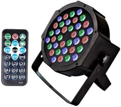 Světlomet U`King 36 LED s dálkovým ovládáním, vhodné pro párty!