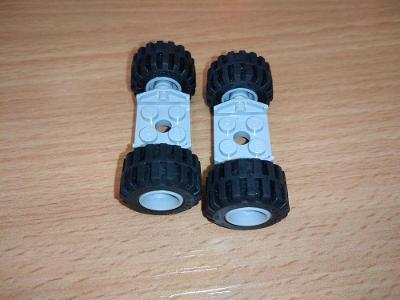 Lego díl 6157 - 4x kola