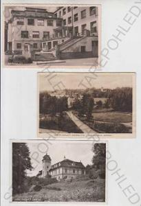 3x Lázně Darkov (Bad Darkau) - Karviná, sanatorium