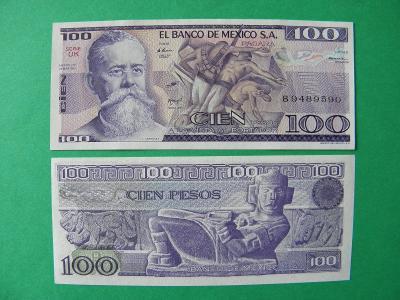 100 Pesos 25.3.1982 Mexico - P74c - UNC - /X310/