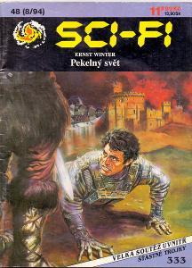 PEKELNÝ SVĚT - Ernst Winter # paperback  # SCI-FI