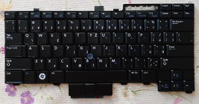 Nová česká klávesnice DELL E6400