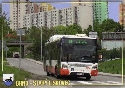 město Brno - Starý Lískovec - autobus