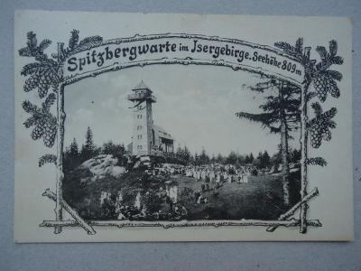Spitzbergwarte im Isergebirge.Seehöhe 809 m.   .....16.4.1922.
