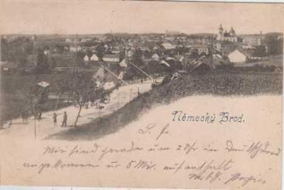 Havlíčkův Brod - Německý Brod, celkový pohled, DA
