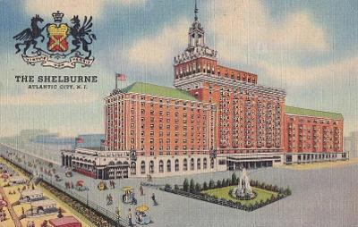 USA - ATLANTIC CITY - HOTEL SHELBURNE - 3-GG67