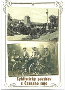 Kost hrad cyklisti Český Ráj