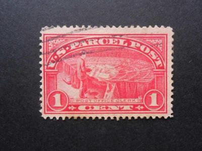 USA - č.  1 P