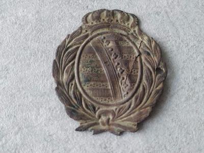 Odznak Vyznamenání voják Armáda Znak top Čepičák R.U. Císař