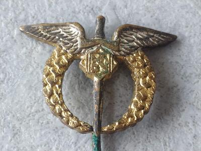Odznak Vyznamenání voják Armáda Znak pilot Pilotní Odznak Letec ČSR