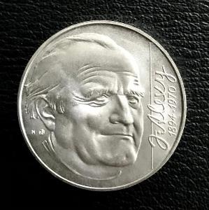 Stříbrná mince 200 SK 1994 Janko Alexy - 100. výroči, perfektní stav!