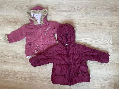 Zimní dětská bunda 86, 4ks