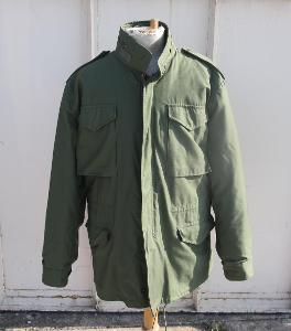 US ARMY M65 FIELD JACKET OLIVE LARGE LONG