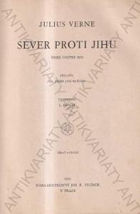 Sever proti jihu Julius Verne 1931 Josef Vilímek