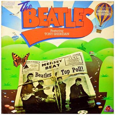 Gramofonová deska THE BEATLES feat. TONY SHERIDAN - The Beatles feat.