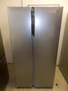No Frost americká chladnička Haier HSR3918ENPG A++, nová