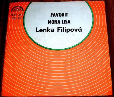 SP LENKA FILIPOVÁ : Favorit +Mona Lisa, OD SBĚRATELE, POŠTOVNÉ 99,- Kč