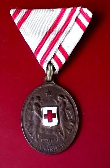 hledané Vyznamenání František Josef I.-bronzový Zdravoták Luxusní