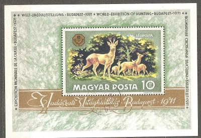 Madarsko 1971 Mi 2683 BL 82