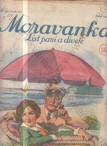 Moravanka 1927-1928 list paní a dívek nekompletní