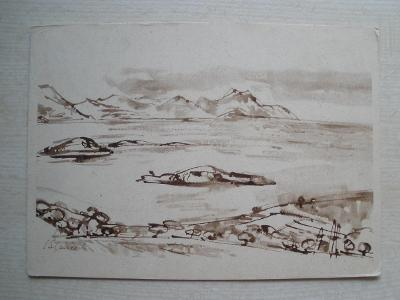 Pohlednice - JAN SLAVÍČEK - Z DALMÁCIE