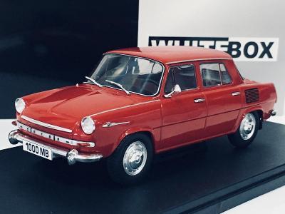 Škoda 1000 MB červená - WhiteBox 1/24