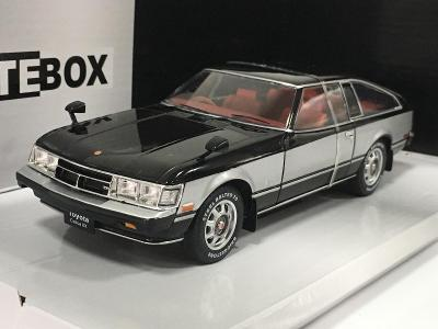 1978 Toyota Celica XX černá/stříbrná RHD - WhiteBox 1/24