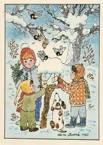 Alena Ladová 3 - 1982  Vánoce , VF, Prošlá