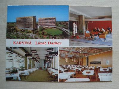 Pohlednice - KARVINÁ - LÁZNĚ DARKOV
