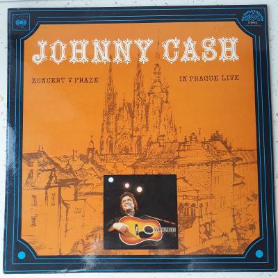 LP JOHNNY CASH KONCERT V PRAZE
