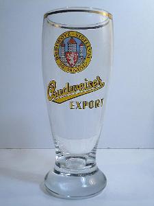 Pivní sklenice pivovar Budvar 05 0,3L