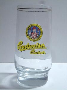 Pivní sklenice pivovar Budvar 07 0,3L