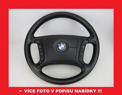 BMW - kožený volant s airbagem - Ø 37,5 cm