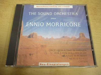 CD THE SOUND ORCHESTRA plays Ennio Morricone