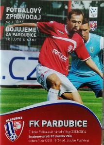 fotbalový program  FK Pardubice - Fastav Zlín (2013)