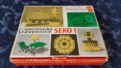 Retro hra polytechnická stavebnice SEKO1
