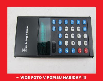 Privileg 856 MD Quelle - sbírková kalkulačka ZACHOVALÁ