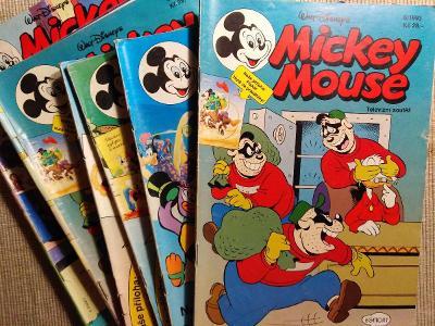 Mickey Maus, komiksy, 1993, 6 kus.