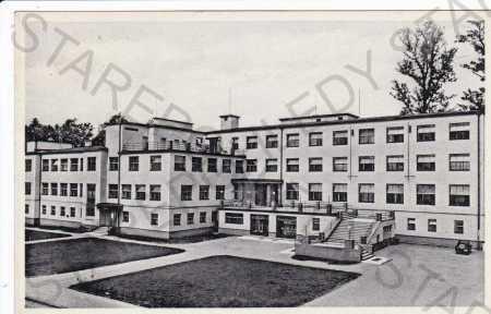 Karviná, lázně Darkov, sanatorium
