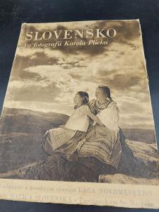 Slovenská kniha Slovensko ve fotografii, Karol Plicko str.224..(15637)