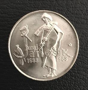 Stříbrná mince 50 Kčs Juraj Jánošík 300. výročí narození 1988