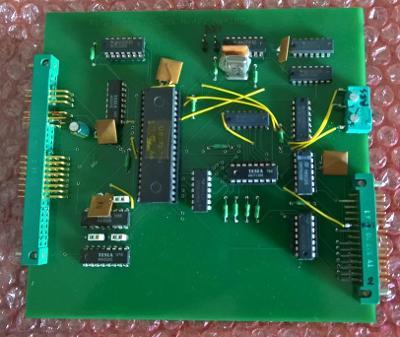 SAPI-1, řadič flopydisků prototyp RPD-8272, bez DMA módu a bez IRQ