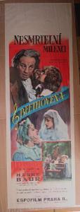 Nesmrtelní milenci Beethovena - film, filmový plakát