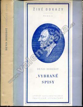 Vybrané spisy - Denis Diderot