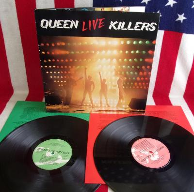 🔴 2LP: QUEEN - LIVE KILLERS, nadhera, original Holland pressing 1979
